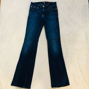 7 For All Mankind Jeans - 7FAM Jimmie Bootcut Jeans Size 28